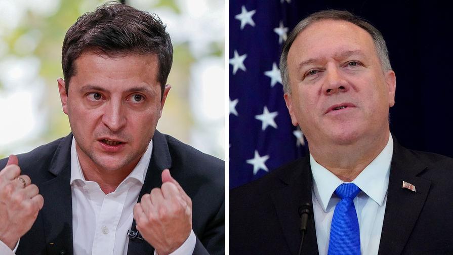 Большой босс из Вашингтона и маленький вассал из Киева